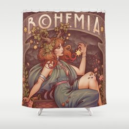 BOHEMIA Shower Curtain