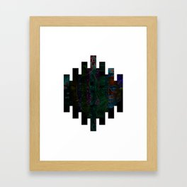 Faces of Outer Space Framed Art Print
