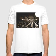 Control Mens Fitted Tee White MEDIUM