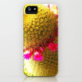"""""""Prickled Pink"""" by ICA PAVON iPhone Case"""