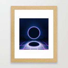 ECLIPSE 2043 Framed Art Print