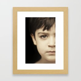 javi 1 Framed Art Print