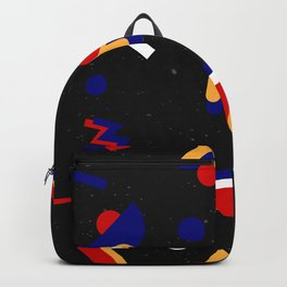 Memphis geometric pattern #2 Backpack