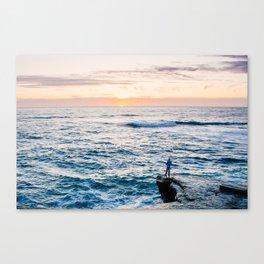 Looking out at La Jolla Shores Fine Art Print Canvas Print