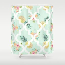 Sweet Pineapples Shower Curtain