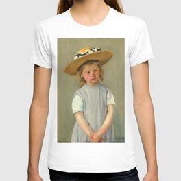 Mary Cassatt - Child in a Straw Hat T-shirt
