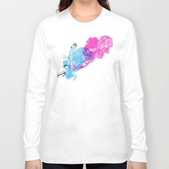 Nerd /// Fight Long Sleeve T-shirt