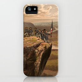 Union soldiers at Point Lookout, Tennessee iPhone Case