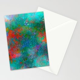 Paints on glass Stationery Cards