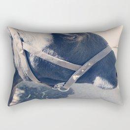 Calf Portrait II Rectangular Pillow