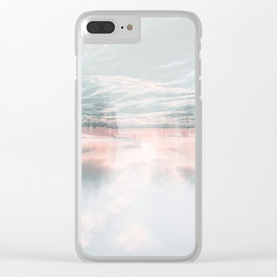 Fluid Glass Clear iPhone Case