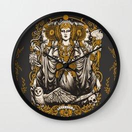 IBERIAN HECATE Wall Clock