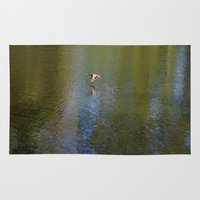 duck Area & Throw Rugs featuring Duck by Alyssa