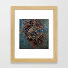 Steampunk Bird Framed Art Print