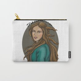 If we cease to believe in Love TVD fanart Carry-All Pouch