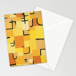 Paul Klee - Signs In Yellow Stationery Cards