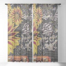Free Association Packing Sheer Curtain