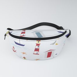 Nautical Fanny Pack