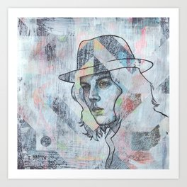 Jack White - I Guess I Should Go To Sleep Art Print