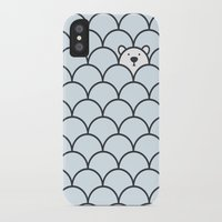 bear iPhone & iPod Cases featuring The Last Polar Bear by Quick Brown Fox