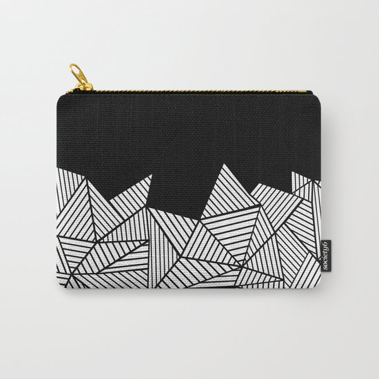 Abstraction Mountain Carry-All Pouch