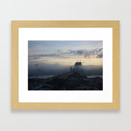 Harbour Framed Art Print