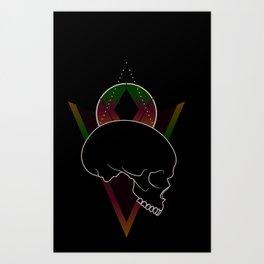 Pleasantly Strange Art Print