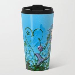 Taking My Goldfish For A Swim Travel Mug