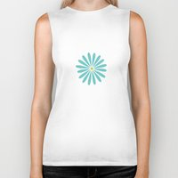 daisy Biker Tanks featuring Daisy by Amy Newhouse