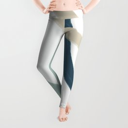 Landing to your dream Abtract Shape 17 Leggings