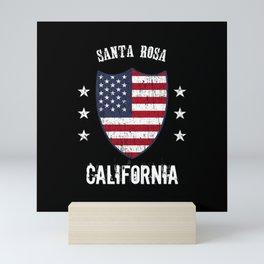Santa Rosa California Mini Art Print
