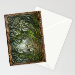 Old Forest (bordered) Stationery Cards