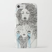 sisters iPhone & iPod Cases featuring Sisters by Katastrofe