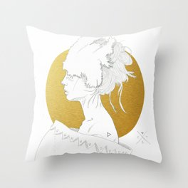 MELLOW GOLD (Steal My Body Home) Throw Pillow