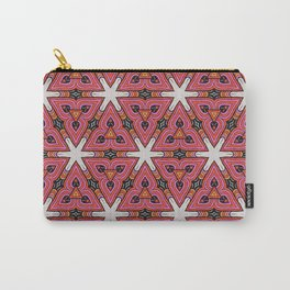 Pink & Orange Carry-All Pouch