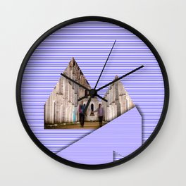 Reykjavik Boulevard #18 Wall Clock