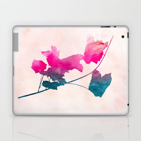 Maple_Watercolor 1 by Jacqueline & Garima Laptop & iPad Skin