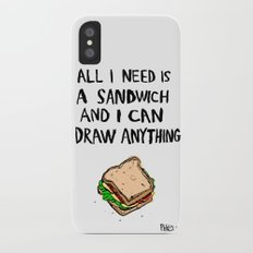 All I Need Is A Sandwich Slim Case iPhone X