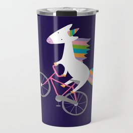 bike unicorn  Travel Mug