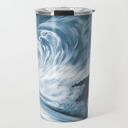 Snowboarder in 100km Blower Travel Mug