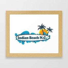 Indian Beach - North Carolina. Framed Art Print