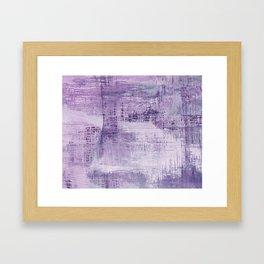 Dreamscape in Purple Framed Art Print