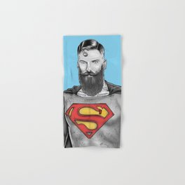 Super Bearded Reeve Hand & Bath Towel