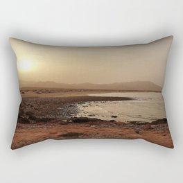 Hazy Sunset Rectangular Pillow