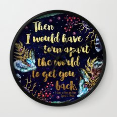 ACOMAF - Torn Apart The World Wall Clock