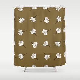 Marigolds Blooms Shower Curtain
