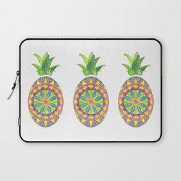 Pineapple Mandala Laptop Sleeve