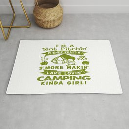 LOVE CAMPING Rug