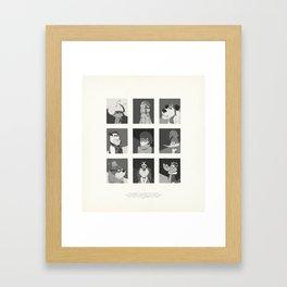 Super Mercredi Bros Heroes (5/8) Framed Art Print