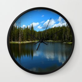 Tranquil Morning At Gull Point Drive Wall Clock